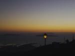 Panorama al tramonto.